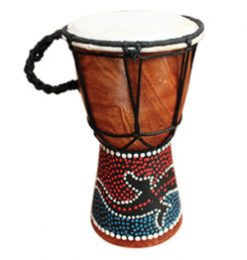 Wood Mini Djembe