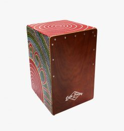 Hand Painted Cajon